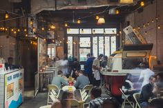 Tacombi, the delicious Mexican street food shop led by Chef Luis Aguilar.