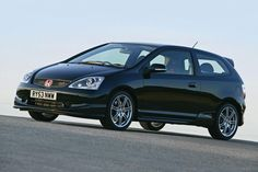 Looking back at 20 years of Honda Civic Type R greatness. From the legendary in 2007 to the fastest production FWD car in the world: the Honda Civic Hatchback, Civic Sedan, Mk1, Integra Type R, Honda Prelude, Japanese Market, Honda Civic Type R, Car In The World, Japanese Cars