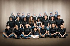 We are TEAM... We are FAMILY... Enjoy work, happy always, love you all