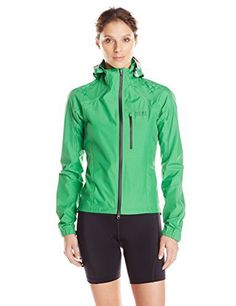 Gore Bike Wear Women ALP-X 2.0 GORE-TEX Active LADY Jacket, JGALPZ The MTB touring miracle!Extremely light waterproof and breathable MTB jacket for maximum weather protection is perfect for multi-day mountain tours. The zip-off hood with adjustable width and field of vision can be easily stowed when not needed. GORE-TEX stretch inserts on the back and arms mean optimum freedom of movement during a strenuous ride.  ALP-X-PRO For race-oriented mountain bikersThis windproof mou