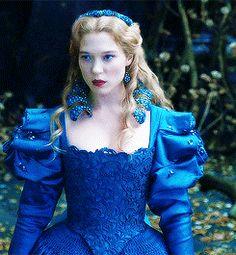 La Belle et la Bete + gowns