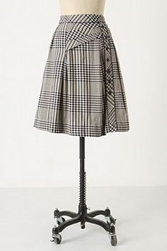 There is a piece of my soul that loves plaid skirts.