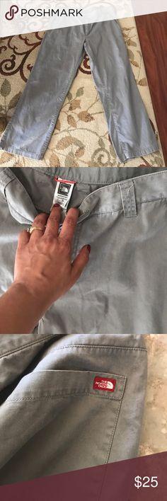 The north face gray pants Men's great khaki gray pants size 38/30 The North Face Pants Chinos & Khakis
