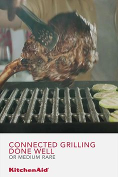 Steak Recipes, Grilling Recipes, Cooking Recipes, Slow Cooker Kitchen, Cooking The Perfect Steak, Homemade Cake Recipes, Cooking Gadgets, Homemade Chocolate, Gourmet Grill
