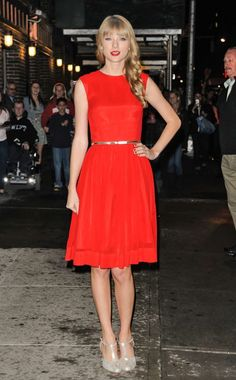 Taylor Swift---love her.  Such a talent and great young woman!