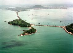 The Amador Causeway is a must see tourist destination located at the southern entrance of the Panama Canal near Panama City.  Panama Tourism and Travel: December 2011