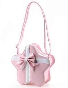 Star bag. Shape bags are so in and always will be in with the Lolita fashion. finish any of your look with this bag. Its so adorable.