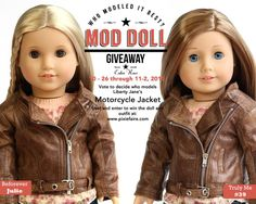 Mod Doll Giveaway - enter to win an American Girl® doll and Liberty Jane® outfit at: http://www.pixiefaire.com/blogs/freebies-and-giveaways/60757829-mod-doll-monday-oct-26-nov-2-who-modeled-it-best: