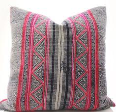 Batik Vintage Textile Pillow