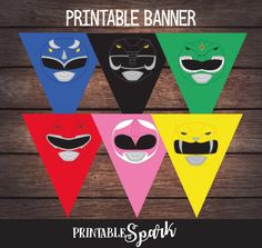 Power Ranger Birthday Banner, Power Ranger Party Banner, Power Ranger Birthday Party, PowerRanger Printable, Digital File de Printablespark en Etsy https://www.etsy.com/mx/listing/533141361/power-ranger-birthday-banner-power