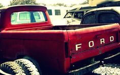 artistic red ford