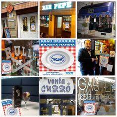 Hoy, en los locales asociados, encontrarás acciones solidarias, #PintxoSolidario. #PintaSolidaria, #PizzaSolidaria, ... para recordaros que el 26 y 27 es la #GranRecojida2015