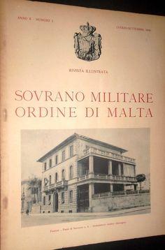 Rivista Illustrata - Luglio-Settembre 1946. #OrderofMalta #SMOM