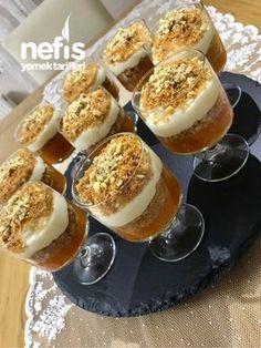 Creamy Kadayıf Pumpkin Dessert – Yummy Recipes – Famous Last Words Yummy Recipes, Healthy Dessert Recipes, Easy Desserts, Delicious Desserts, Yummy Food, Tasty, Drink Recipes, Keks Dessert, Creme Dessert