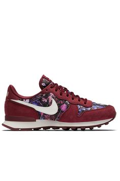 the best attitude 8531f 2bc75 Baskets Internationalist Floral-Red Nike by bonny
