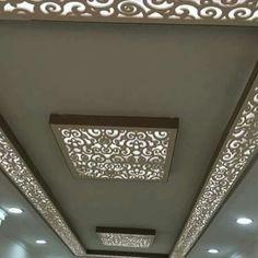 Lazer cut design false ceiling