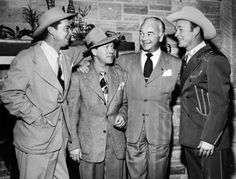 Russell Hayden - Tim Spencer of The Sons of the Pioneers - William Boyd - Roy Rogers