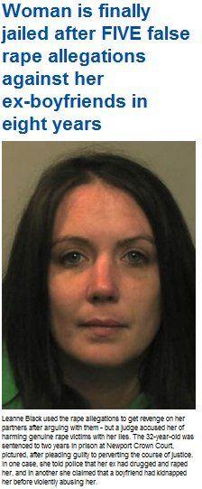 Kvinna får fängelse för 5 falska anmälningar om våldtäkt | Ann-Mari's Blogg