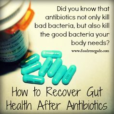 How to heal your gut after antibiotics