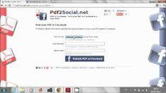 Pubblica il tuo eBook su Facebook con Pdf2Social