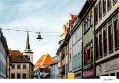 Erfurt I by Sabine Scheller, via 500px