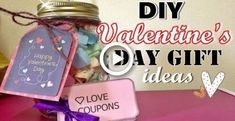 DIY Valentines Day gifts for him/her (Cheap&Easy) Diy Valentines Day Gifts For Him, Easy Valentine Crafts, Diy Gifts For Him, Easy Diy Gifts, Diy Christmas Gifts, Creative Gifts, Surprise Gifts For Girlfriend, Handmade Gifts For Boyfriend, Girlfriend Gift