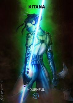 Mortal Kombat X Kitana-mournfull Variation by Grapiqkad on DeviantArt