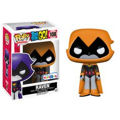 Pop! Television - Teen Titans Go! - Raven [Orange]
