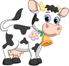 Illustration about Illustration of cute cow cartoon. Illustration of flower, blue, life - 40509265 Cow Cartoon Drawing, Cow Cartoon Images, Cow Drawing, Cartoon Cow, Cute Cartoon, Cartoon Photo, Zebra Cartoon, Animal Paintings, Animal Drawings