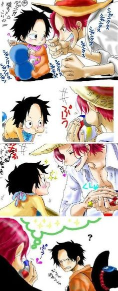 Shanks & Ace. <3