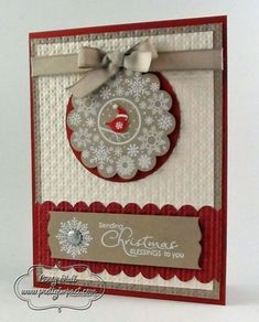 Four Seasons Christmas Card by Cindy Hall - Cards and Paper Crafts at Splitcoaststampers
