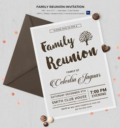 Family reunion invitation letter template 25 family reunion 25 family reunion invitation templates free psd invitations download maxwellsz