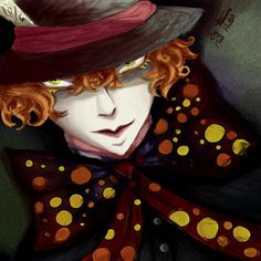 Mad Hatter! By me.  I haven't been active in awhile. Well, it isn't like people look on my account  #madhatter #Aliceinwonderland #drawings #art