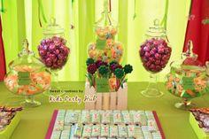 Kids Party Hub: Tinkerbell Fairy Garden Themed Candy Buffet