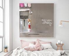 """Obraz na płótnie """"Więcej Cukierków!"""" 100x100 cm - KRZANOO - Ozdoby na ścianę"""