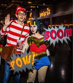 Lichtenstein Pop Art Wonder Woman Finds Waldo [Cosplay]