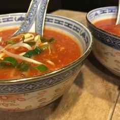 Hele lekkere Chinese tomatensoep - Pekingsoep (vegetarisch) - Lekker eten met Marlon
