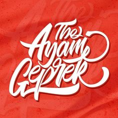 The Ayam Geprek Club lettering - check it on my Instagram  #lettering #art #calligraphy #handlettering #typography #design #graphicdesign #tattoo #drawing #ink #moderncalligraphy #illustration #letters #brushlettering #sketch #artist #quotes #letteringtattoo #inktober #type #script #handwriting #creative #tattoos #graffiti #handmade #instagood #artwork #bulletjournal #bhfyp Lettering Art, Typography Design, Artist Quotes, Creative Tattoos, Modern Calligraphy, Inktober, Handwriting, Script, Graffiti