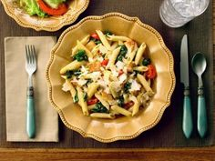 Chicken Florentine Pasta Recipe | Food Network