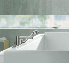 Axor Steel #bathrooms #bathroominspiration #luxurybathrooms
