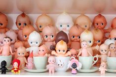 Fantastic Kewpie collection pictured at Cherry And me.
