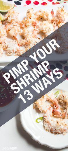 We've got 13 recipes for your shrimp dinners.