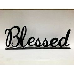 Winston Porter Blessed Desk Topper Wall Décor Peacock Wall Decor, Metal Wall Decor, Corrugated Wall, Monogram Wall Hangings, Blessed Sign, State Of Tennessee, Drink Signs, Porch Signs, Metal Homes