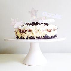oreo ice cream cake.