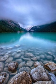 Lake Louise, Canada. One of the most beautiful places in the world...and I have actually been there. It is even more splendid in person!