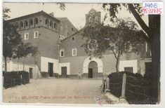 Postales: (PS-11975)POSTAL FOTOGRAFICA DE BELCHITE(ZARAGOZA)-PUERTA PRINCIPAL DEL SEMINARIO - Foto 1 - 13749804