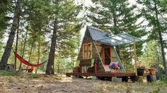 This Couple Built a Tiny A-Frame in Montana for Just $700 | Apartment Therapy