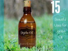 15 Beautiful Use for Jojoba Oil - by the Bionic Beauty blog