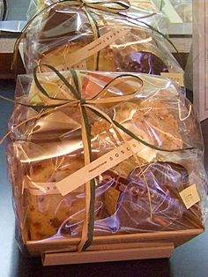 baked sweets gift basket
