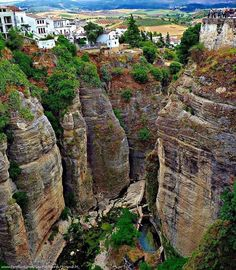 Los Taio Ronda - Spain  One of the most amazing places I have visited, that no one has ever heard of!  BEAUTIFUL!